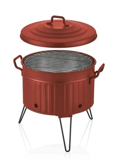 The Mia Mangal 38X35X35 Kırmızı Renkli